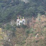 Het Kykkos Klooster in de bergen op Cypres