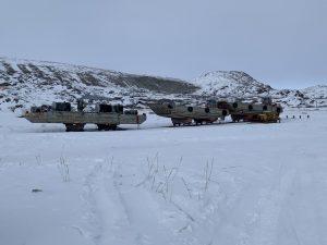 Wat een kou in Kangerlussuaq